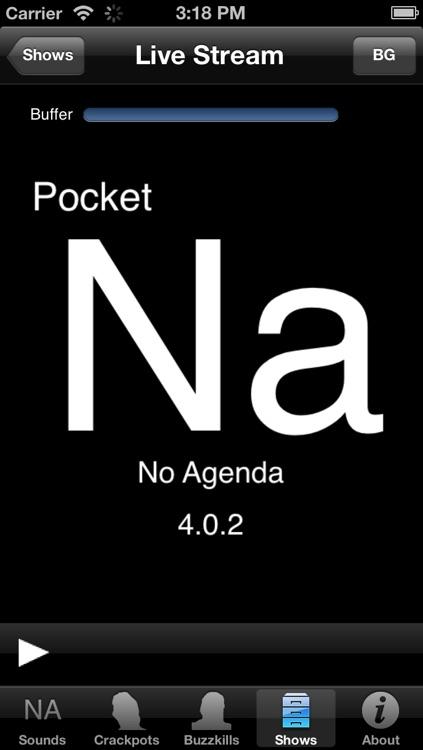 Pocket No Agenda screenshot-3