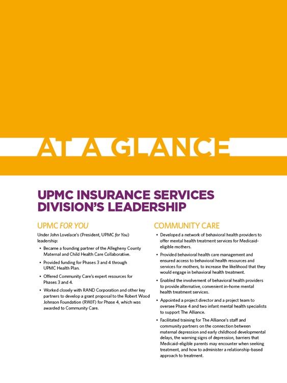 UPMC Healthplan Perspectives Report