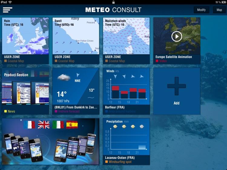 Météo Marine pour iPad
