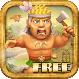 Running Clash Warrior - Escape from Village Archers Free Game