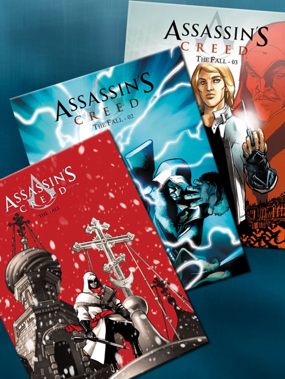 Assassin's Creed Comics screenshot-4