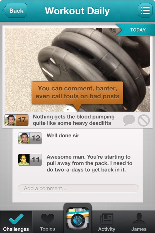 Leap - Join group challenges for motivation and encouragement to reach your goals! screenshot-3