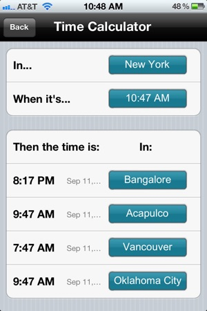 timing the international clock on the app store