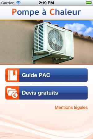 App store pompe chaleur for Calcul pompe a chaleur piscine