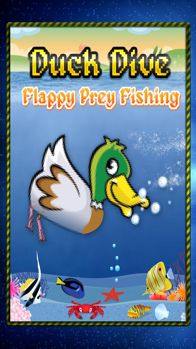 Duck Dive: Flappy Prey Bird Fishing