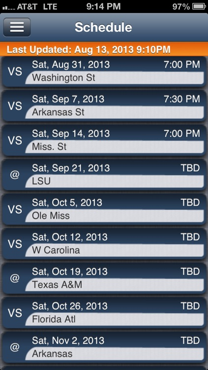 Auburn Football Live screenshot-2