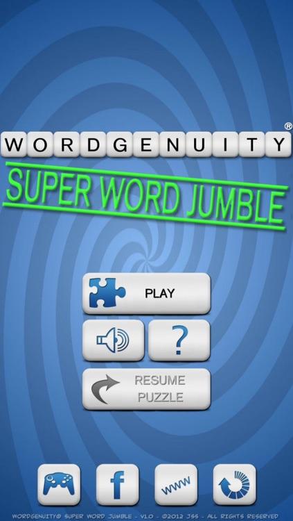 Wordgenuity Super Word Jumble