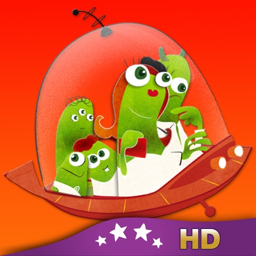 Vacation to Mars HD - Children's Story Book icon