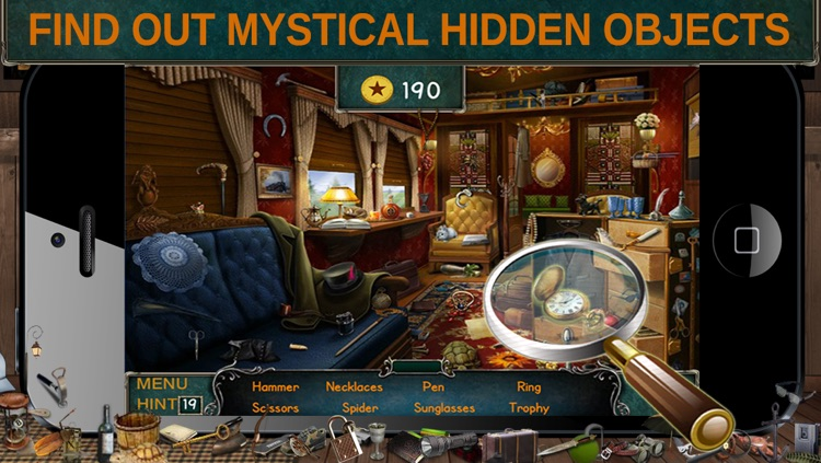 Hidden Objects.