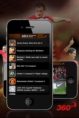 Manchester United Massive Screenshot 1
