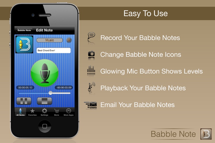 Babble Note