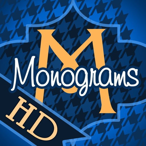 Magical Monograms HD - Customized Designer Wallpaper, Backgrounds and Icon Skins