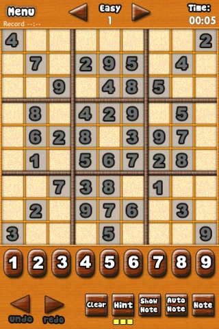 Sudoku! Free screenshot-1