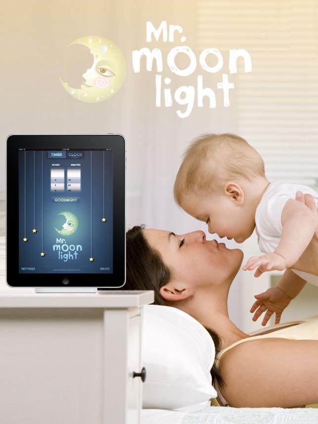Mr. MoonLight : Kinder Weckuhr, Baby Wecker, Schlaftraining, Nachtlicht, Kleinkind, Kind, Nickerchen, Anzeige Uhr, Kinderuhr Screenshot
