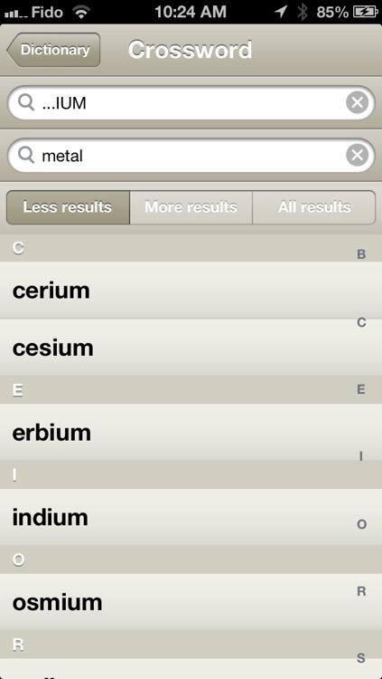 Crossword Dictionary + Letterpress cheat screenshot-4