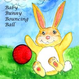 Baby Bunny Bouncing Ball