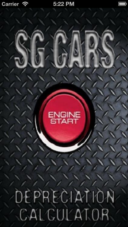 SG Car Depreciation Calculator