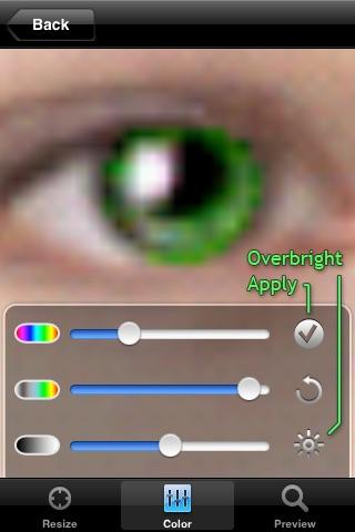 ColorEyes - Realistic Eye Color Changer Screenshot 4