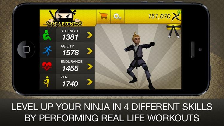Ninja Fitness Free: Strength, Running, Yoga and Meditation Workout Program