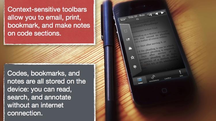 LawBox 2013 - Mobile Law Library screenshot-3