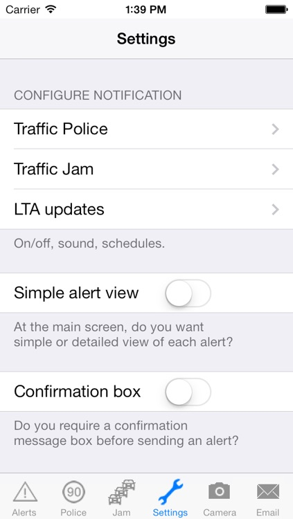 TrafficAlert screenshot-2