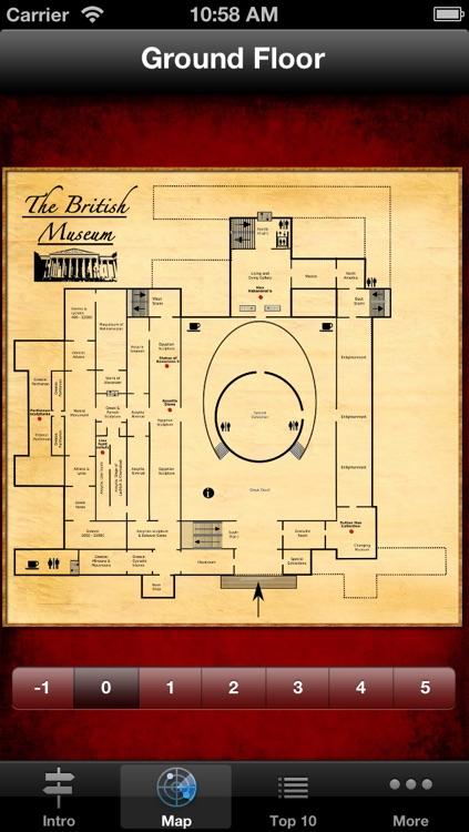 British Museum Audio Guide & Map