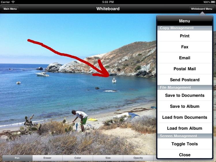 Wireless Whiteboard for iPad screenshot-3