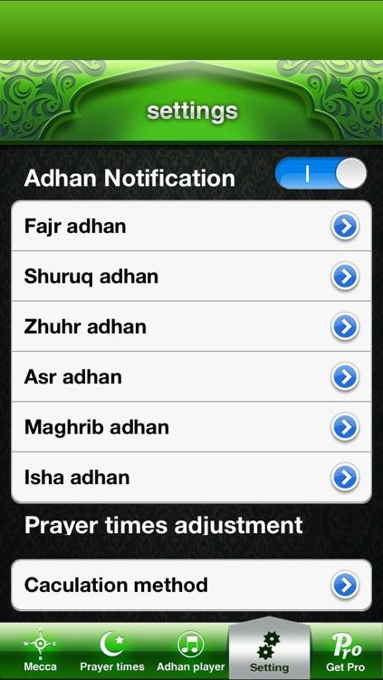 Compass for Islamic Free screenshot-3