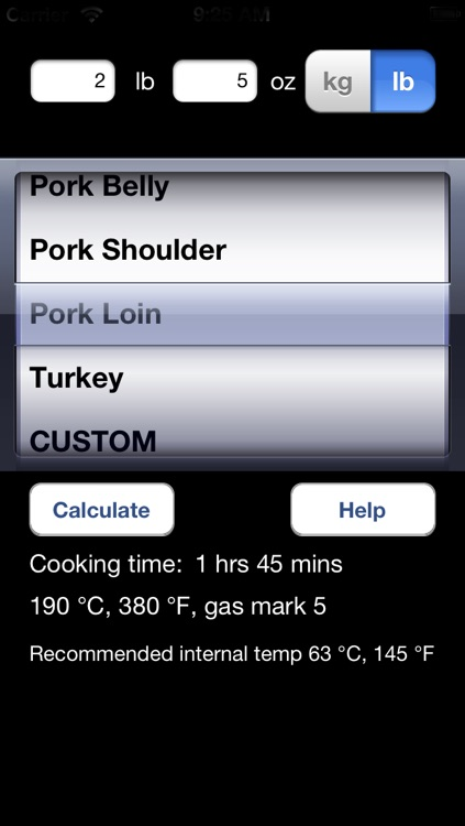 Meat Cooking Times screenshot-1