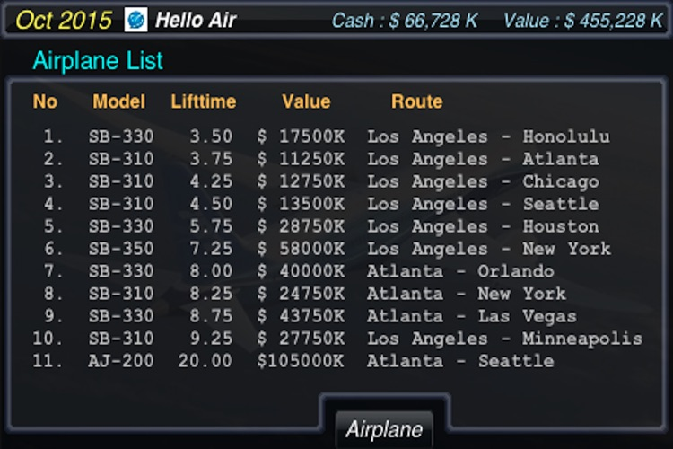 AirTycoon - Airline Management screenshot-4
