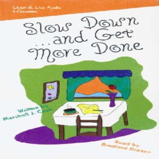 Slow Down... and Get More Done (Audiobook)