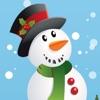 サンタクロース、トナカイルドルフ、ギフト、そして雪のたくさんの幼稚園、幼稚園や保育園のためのパズルやゲーム:クリスマスについての子供の年齢2-5のためのゲーム。無償、新しい - iPhoneアプリ