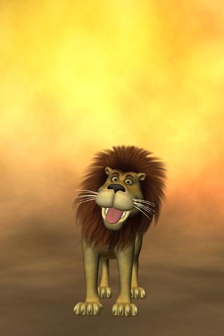Talking Luis Lion screenshot two