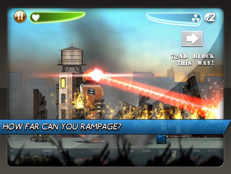 Robot Rampage HD screenshot-0