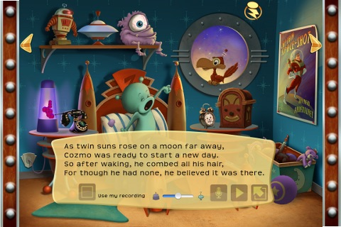Cozmo's Day Off - Children's Interactive Storybook