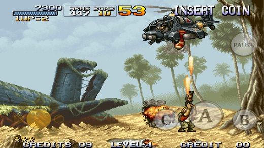 METAL SLUG 1 Screenshot