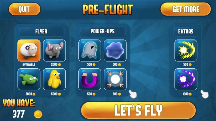 Flappy Animals: Sheep, Elephant, Fish screenshot-4