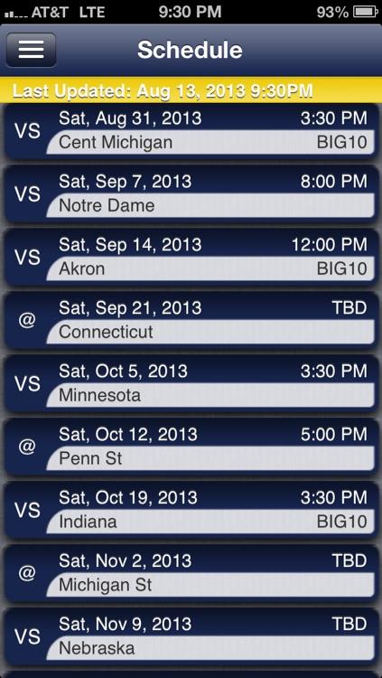 Michigan Football Live
