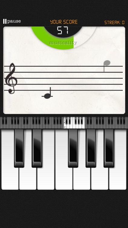Note Trainer - sight reading for piano