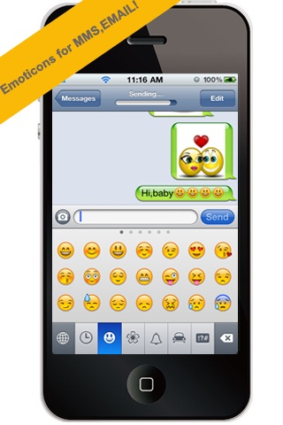 All-In-1 3D Emoticons Professional For MMS,EMAIL! screenshot-4