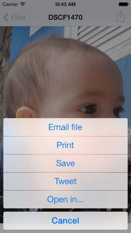 FastZip - ZIP, unZIP and unRAR screenshot-3
