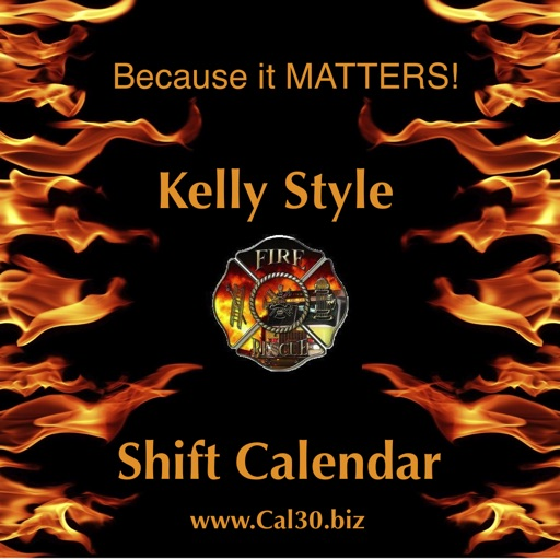 Shift Calendar Kelly iOS App