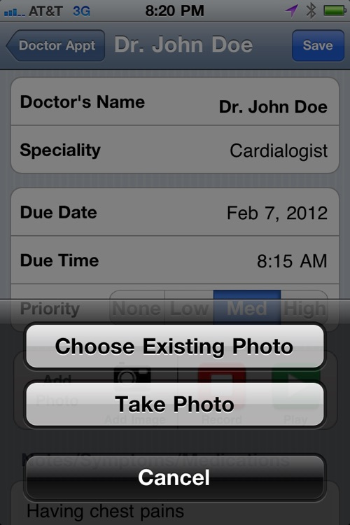Doctors Appointment Reminder screenshot-3