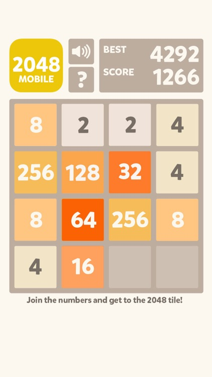2048 Mobile Logic Game - Join the numbers screenshot-4