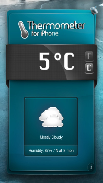 Thermometer/Weather for iPhone & iTouch screenshot-3