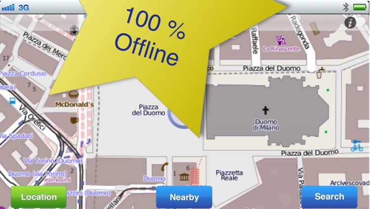 Milan No.1 Offline Map screenshot-1