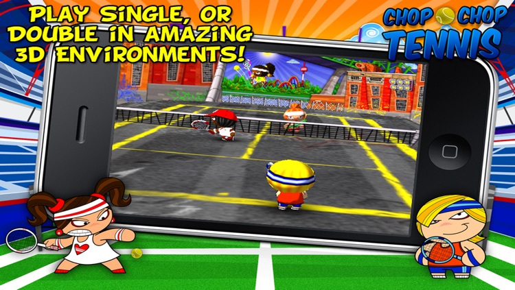 Chop Chop Tennis screenshot-3