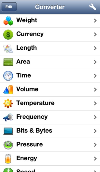 Converter - The Unit Converter screenshot one