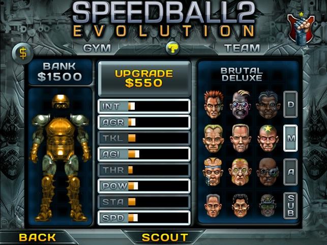 Speedball 2 Evolution Screenshot