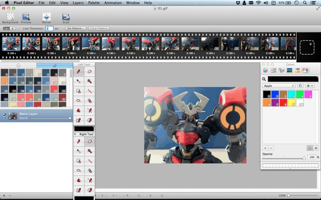 ‎Pixel Editor Pro on the Mac App Store